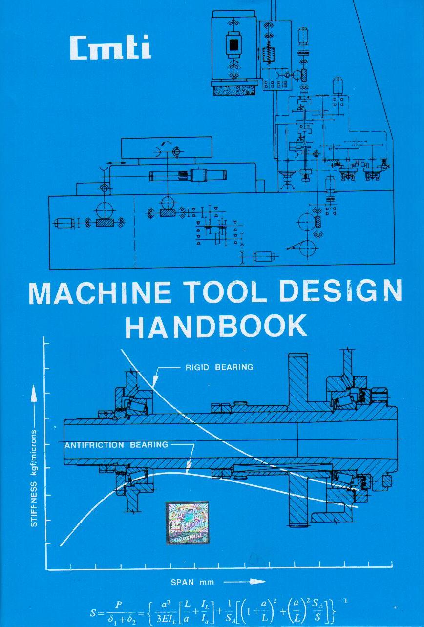 Books On Machine Tool Design