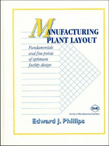 manufacturing plant layout fundamentals  fine points  optimum facility design edward