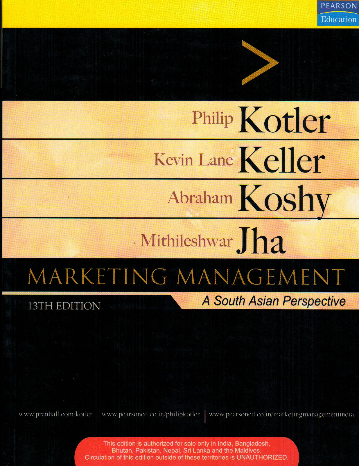 Marketing Management A South Asian Perspective 13th Edition