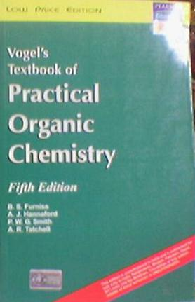 Title Vogels Textbook Of Practical Organic Chemistry 5th Edition Author AJ Hannaford AR Tatchell BS Furniss PWG Smith