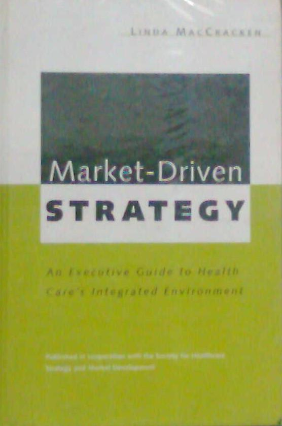 a market driven strategy Thus, a market-driving strategy is a holistic and strategic approach to traditional strategy formulation because it looks at both inside and outside of the company - that of including value chain and underserved / unserved markets.