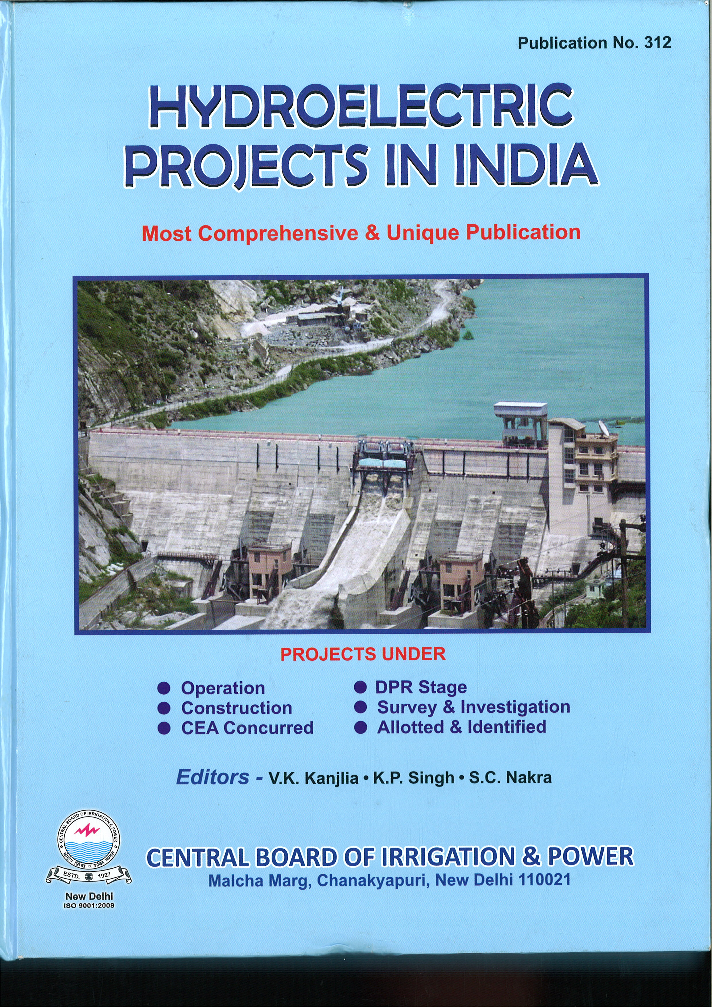 Hydroelectric Projects In India Cbip 8173363196