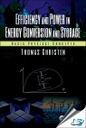 Efficiency and Power in Energy Conversion and Storage : Basic Physical Concepts [ 1138626635 / 9781138626638 ]